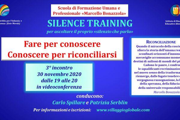 Silence Training 30.11