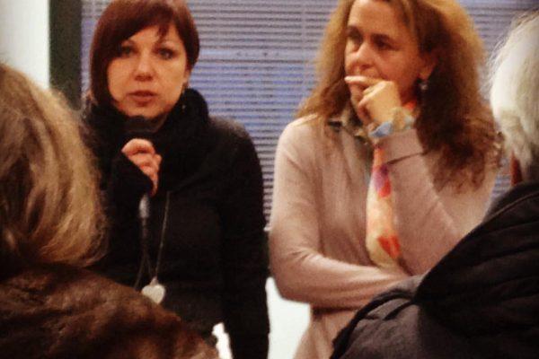 Nadia Luppi (a sinistra) e Irene Pulzoni