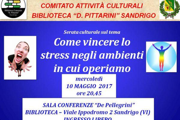 biblioteca Sandrigo maggio