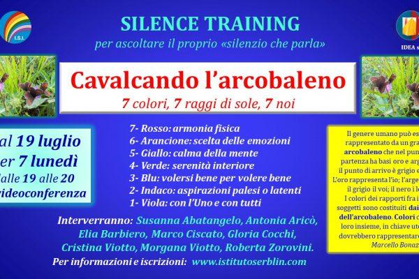 Silence Training Arcobaleno con programma