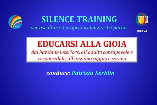 Silence Training Gioia per internet
